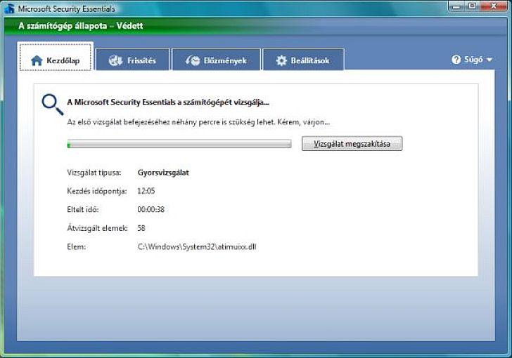 A Microsoft ingyenes v�rusv�delme imm�r a magyar felhaszn�l�k sz�m�ra is el�rhet�