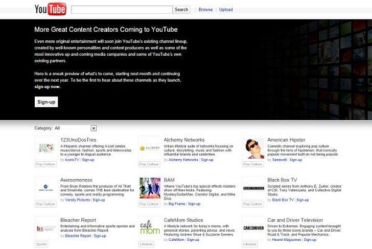 A csatornákon futó programok szerzői és szereplői között közismert sorozatok alkotói, popsztárok és élsprotolók is megtalálhatók