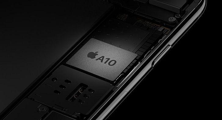 Az új A10 lapkának köszönhetően még nagyobb teljesítmény kerül az új iPhone-okba