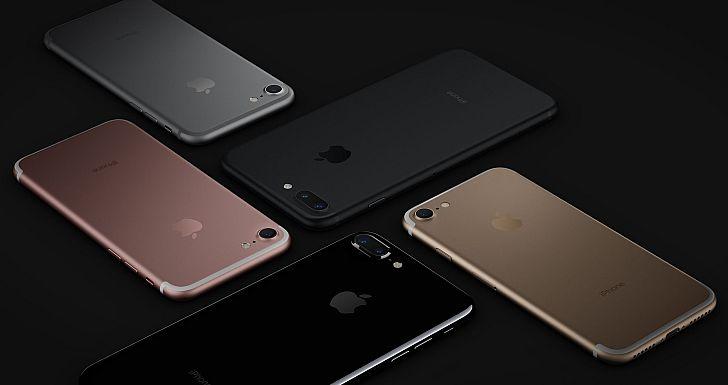 Az iPhone 7 modellek öt különböző színben - köztük kétfajta feketében - rendelhetők
