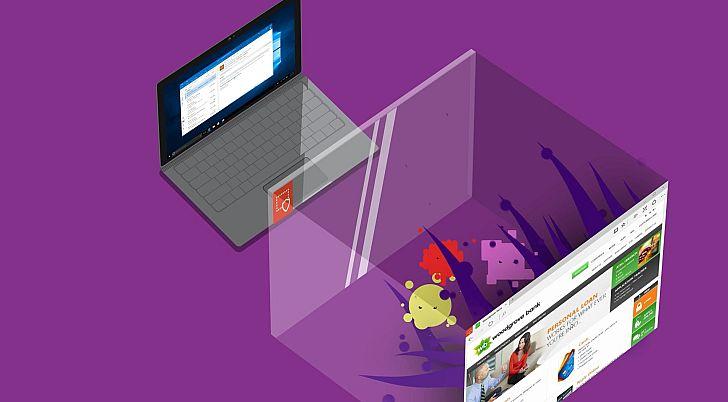 Az új Edge böngésző virtuális gépben fog futni, így a kártevők nem férhetnek majd hozzá a gazdagéphez rajta keresztül
