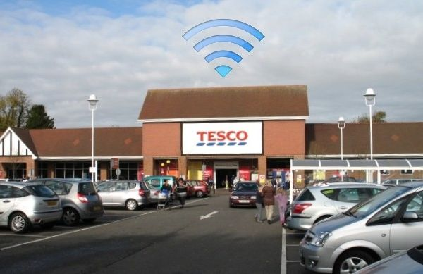 Tesco-stores-to-provide-free-wifi