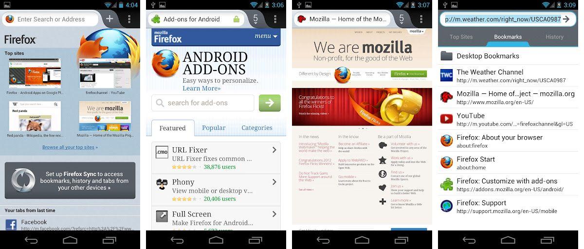 Letölthető az új, szupergyors Firefox Androidra