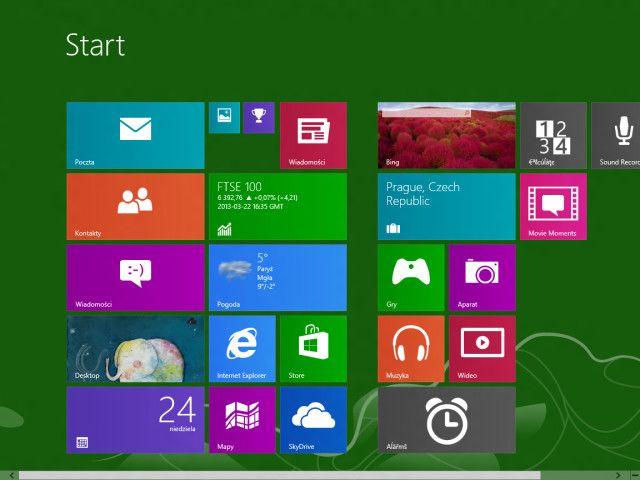 A kiszivárgott verzió az eddigieknél kisebb csempék létrehozását is lehetővé teszi a Start képernyőn