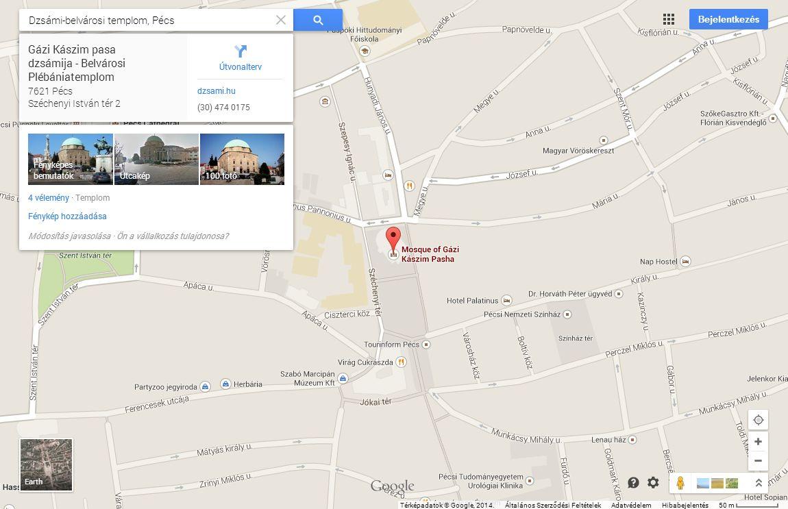 Google Terkep Eger Marlpoint