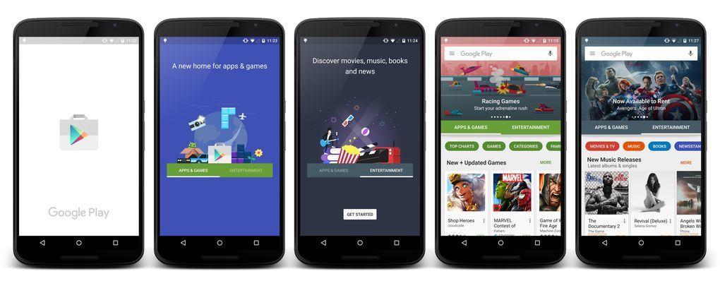 9e286edd1b Azt egyelőre nem lehet tudni, hogy az új design mikor fog megjelenni a Play  Store-ban - de maga a nyilvánosságra hozás alapján valószínűnek tűnik, ...