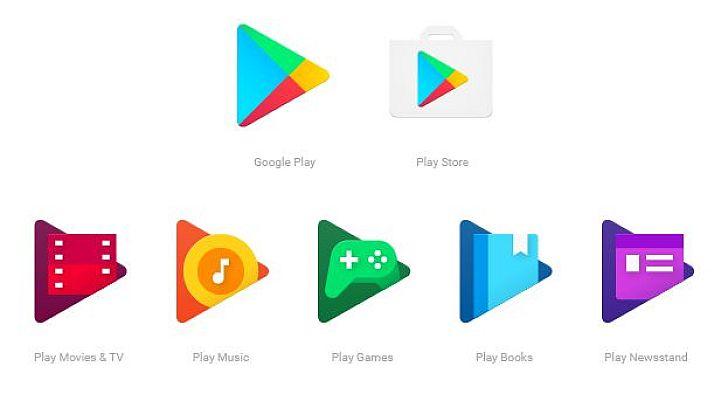 b4516258ea Az új Play alkalmazásikonok már egységesebbek, és mind a Google Play  logóját idézik