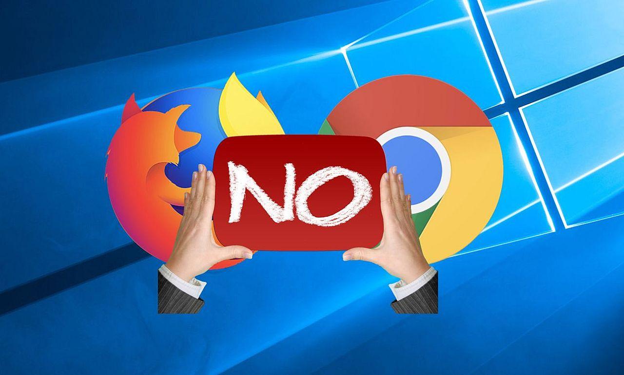 Eltanácsol a Chrome és a Firefox használatától az új Windows 10. PC Fórum 8585add195