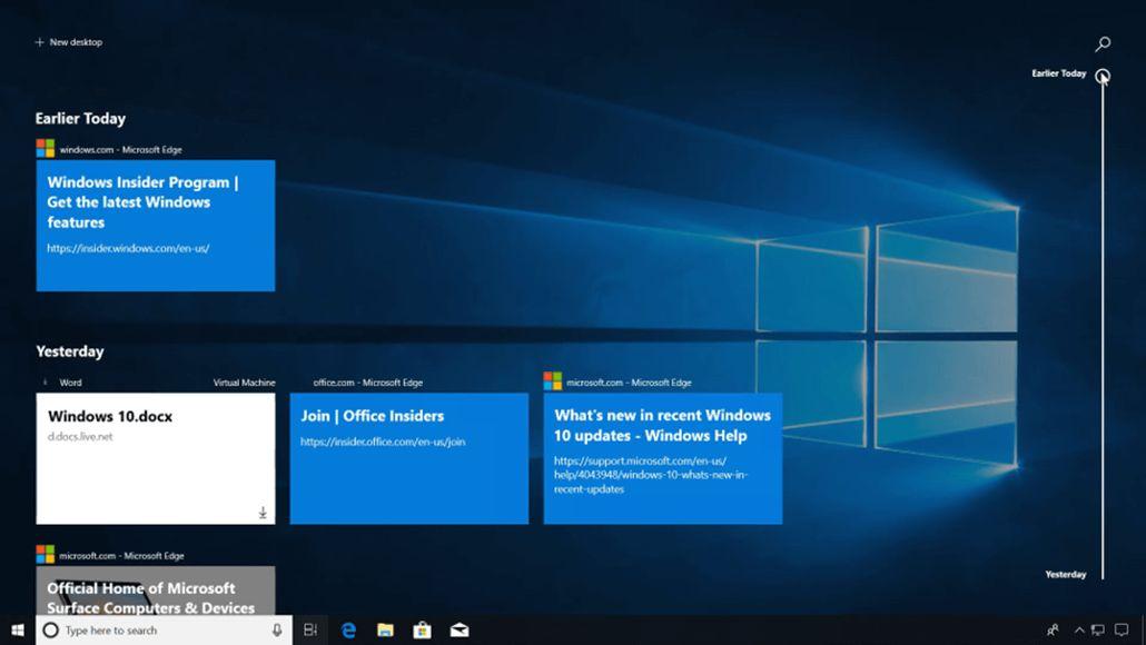 6d32d3dfb4 A bővítmény telepítését követően a Chrome is felírja a meglátogatott  oldalak listáját a Windows Idővonalára
